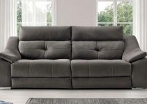 Cómodo sofá reclinable motorizado