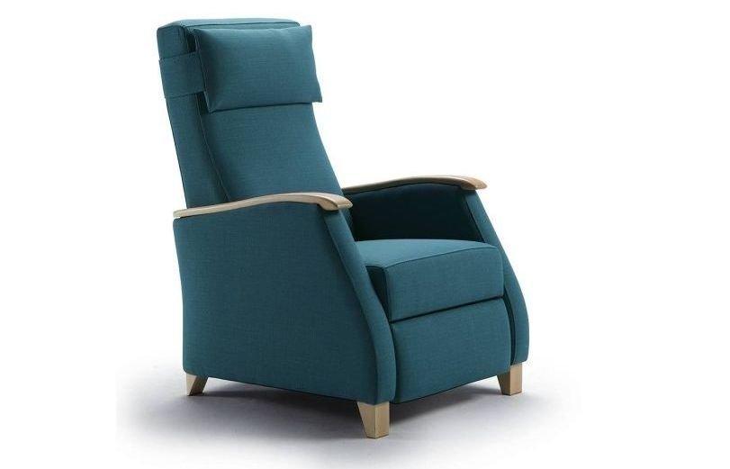 Sillón de madera relax reclinable