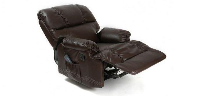 Sillón reclinable con masaje
