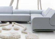 Sofá reclinable de estilo moderno