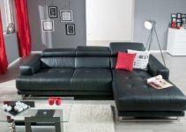 Sofá reclinable eléctrico con chaise longue