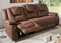 Sofá reclinable elegante y eléctrico
