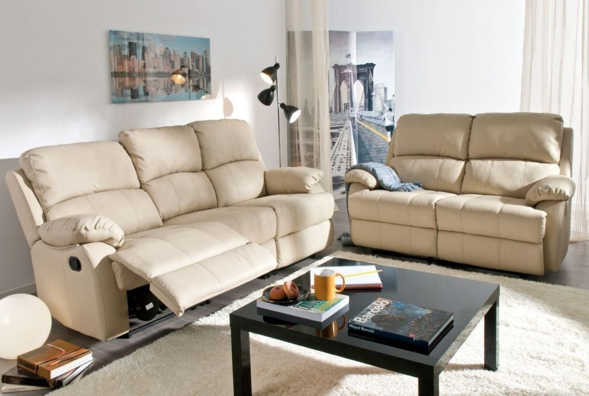 Sofá reclinable relax eléctrico