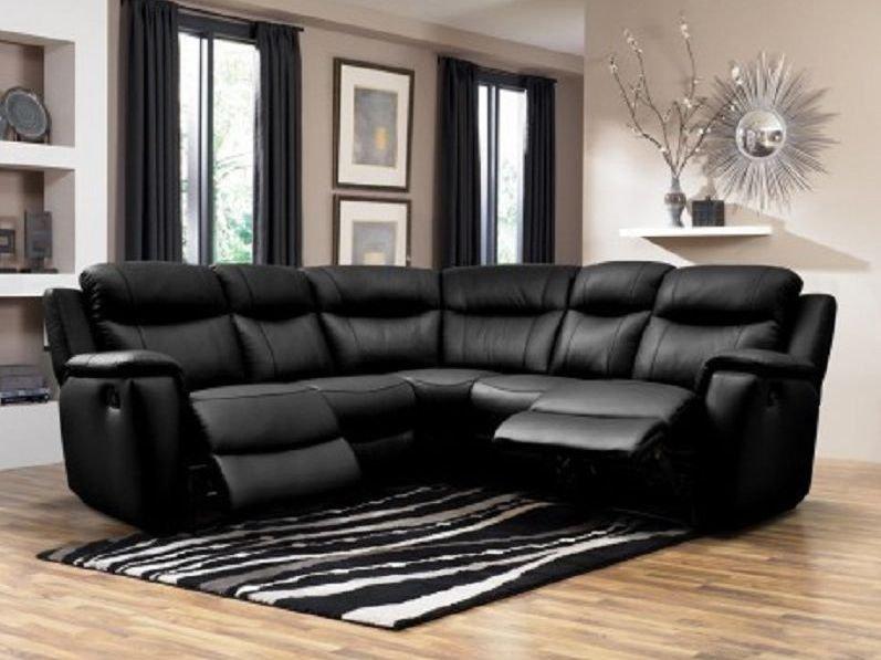 Sofá reclinable rinconero eléctrico